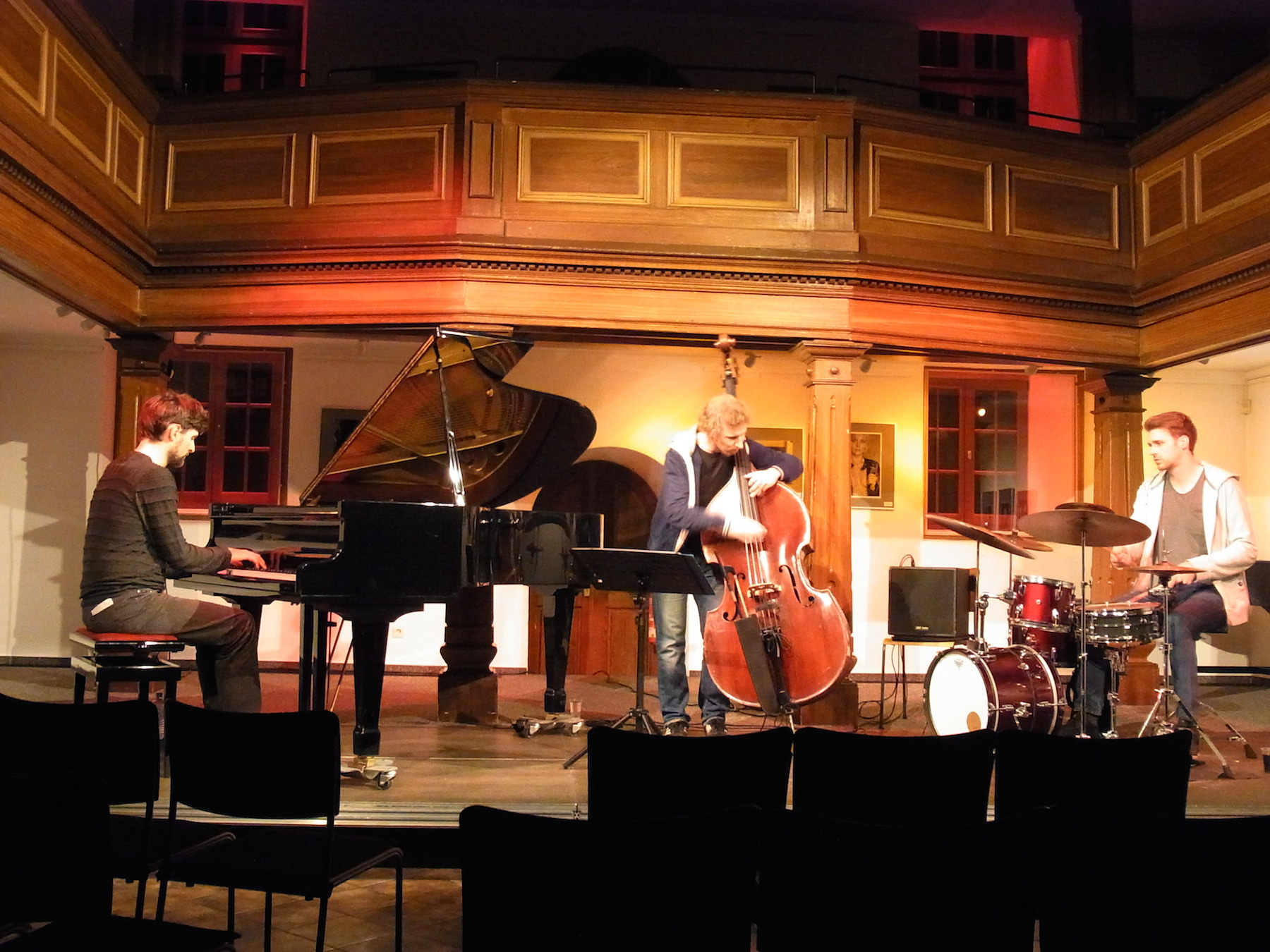 Soundcheck Auerbach 2014_Stephan Becker Trio