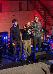 Konzert in Wolfsburg mit Reza Askari am Kontrabass