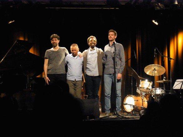 Die Band: S. Becker, J. Oetz, K. Wesley, Th. Esch